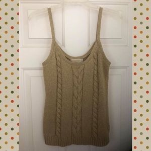 Michael Kors sweater tank top, Size Medium
